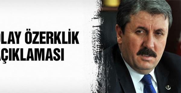 Mustafa Destici'den şok özerklik açıklaması