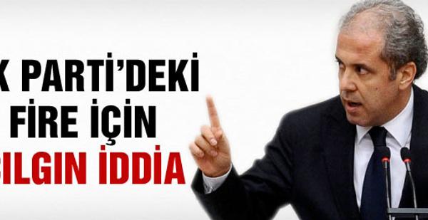 Şamil Tayyar'dan AK Parti'deki fire için çılgın iddia!