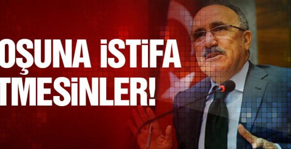 Beşir Atalay'dan son dakika seçim istifası açıklaması