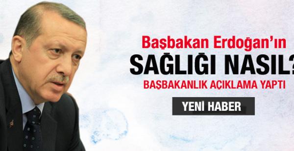 İşte Erdoğan'ın sağlık durumu