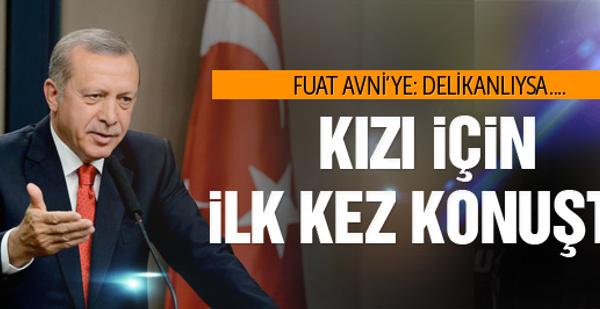 Erdoğan'dan son dakika Sümeyye Erdoğan açıklaması
