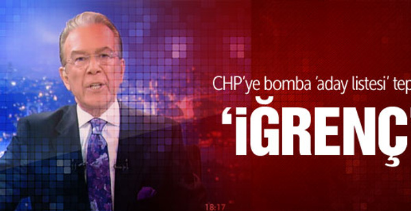 CHP'de liste dışı kalan 2 isim için Uğur Dündar'dan tepki