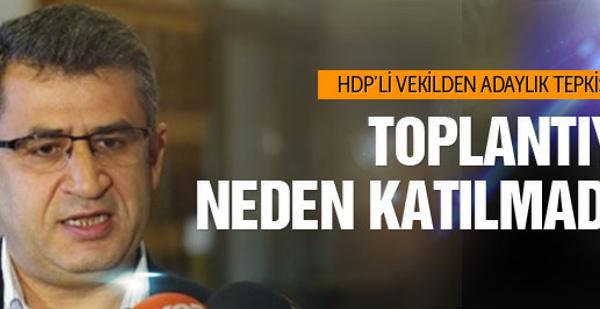 HDP'li vekilden partisine adaylık tepkisi!