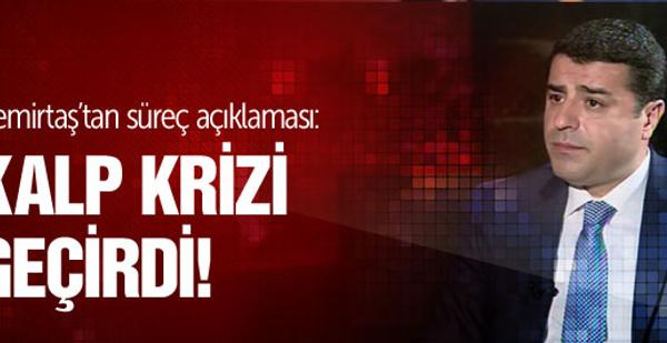 Demirtaş'tan flaş çözüm süreci çıkışı!