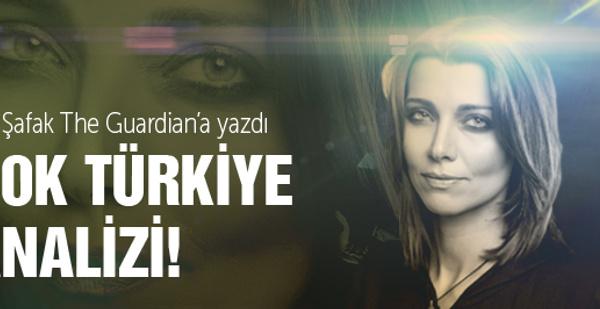 Elif Şafak'tan şok Türkiye yorumu!