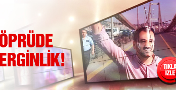 Boğaz'da Muhsin Yazıcıoğlu eylemi