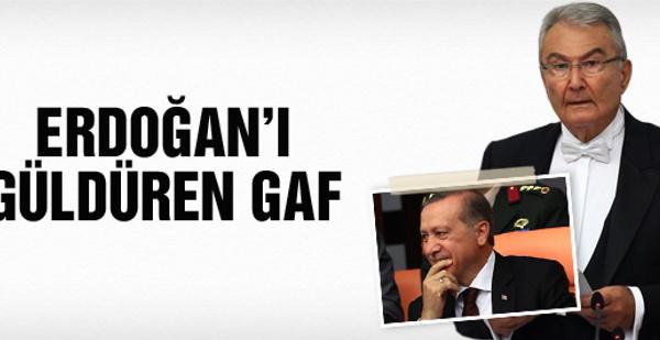 Baykal'dan Erdoğan'ı güldüren gaf
