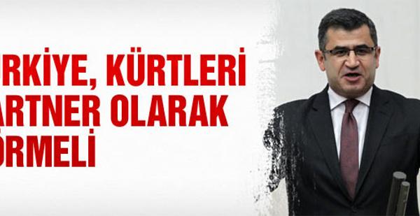 Türkiye Kürtleri partner olarak görmeli!