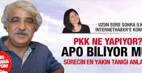 Mithat Sancar'dan PKK gerçekleri