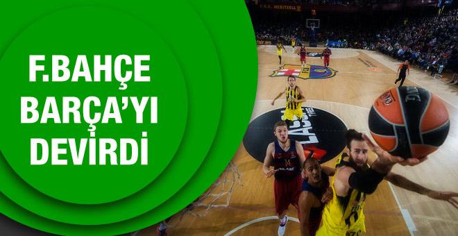 Fenerbahçe Barcelona'yı devirdi