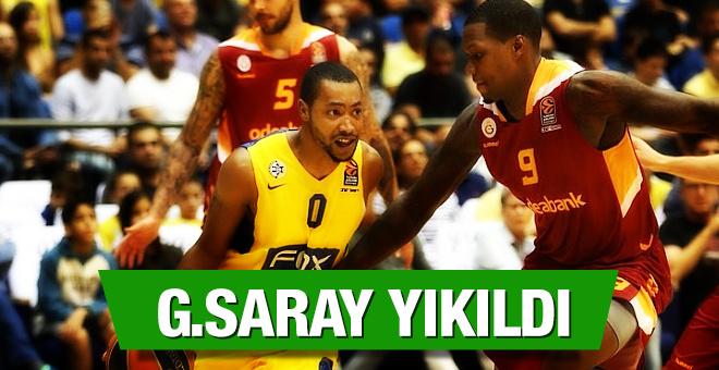 Galatasaray İsrail'de yıkıldı