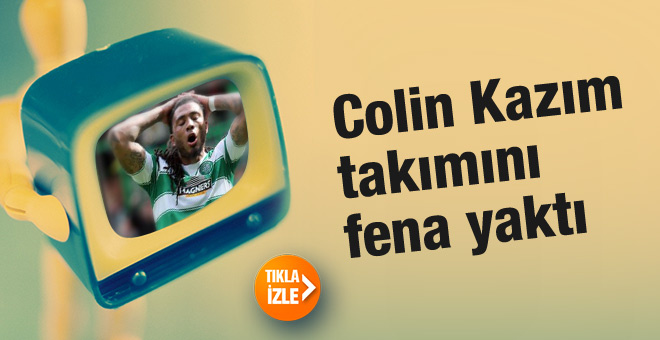 Colin Kazım Coritiba'yı fena yaktı