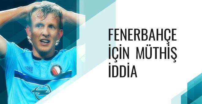 Dirk Kuyt: Bu Fener finale gider