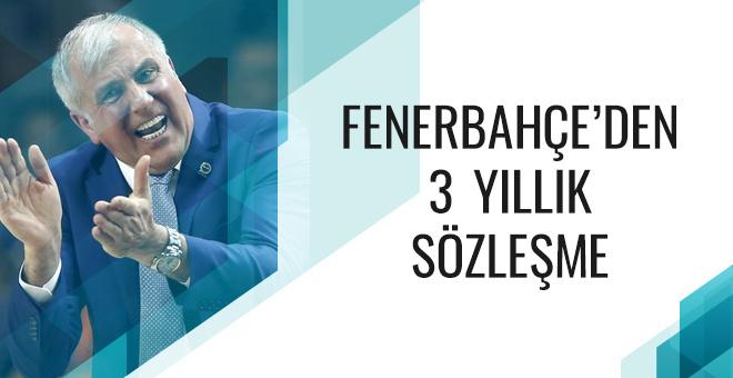 Fenerbahçe Obradovic ile sözleşme yeniledi