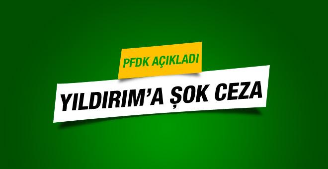 PFDK'dan Aziz Yıldırım'a 45 gün hak mahrumiyeti!