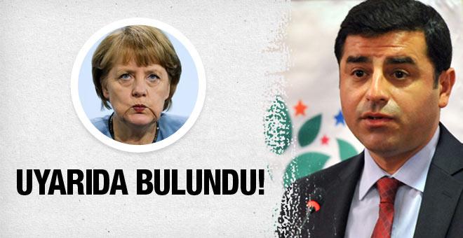 HDP Merkel'e mektup gönderdi! Ciddi endişeler...