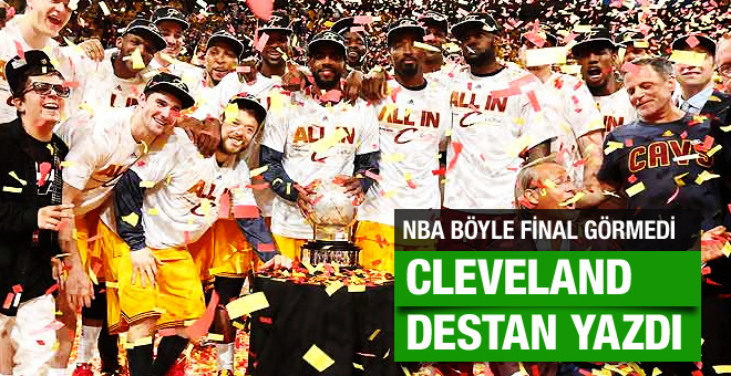 Cleveland Cavaliers NBA şampiyonu