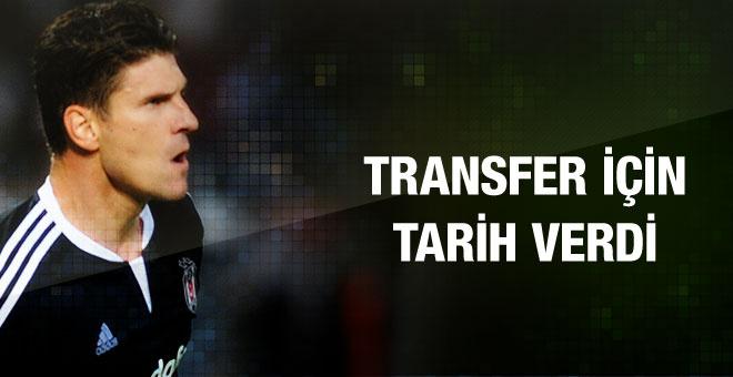 Mario Gomez EURO216 sonrasına tarih verdi
