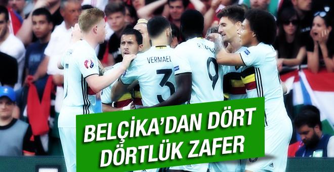 Belçika coştu çeyrek finale koştu!