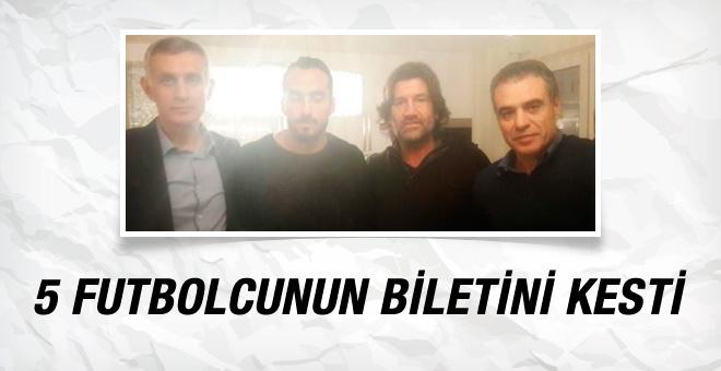 Ersun Yanal'ın biletini kestiği 5 futbolcu belli oldu