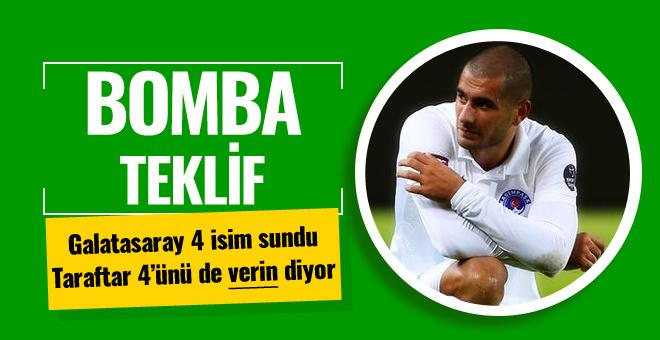 Galatasaray'ın Eren Derdiyok için yaptığı teklif