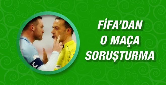 UEFA Cüneyt Çakır'ın yönettiği maça soruşturma açtı