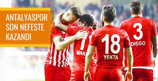 Antalyaspor Kasımpaşa maçı sonucu ve özeti