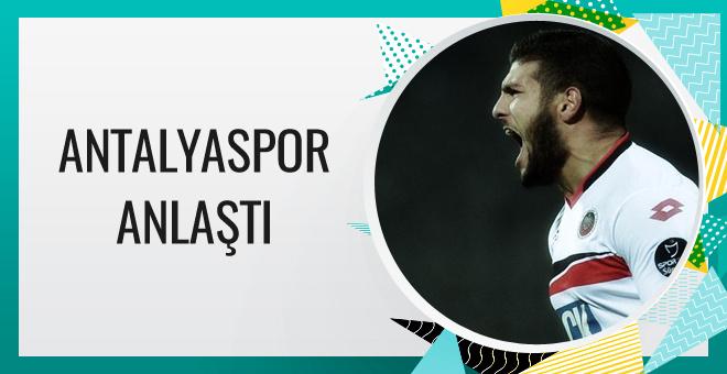 Antalyaspor El Kabir'le anlaştı