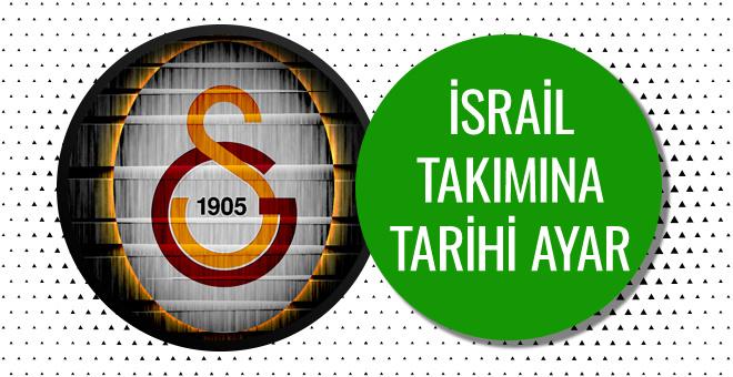 Galatasaray'dan  Maccabi FOX'a tarihi ayar