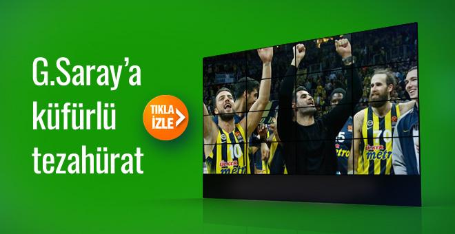 Volkan Demirel'den Galatasaray'a küfürlü tezahürat