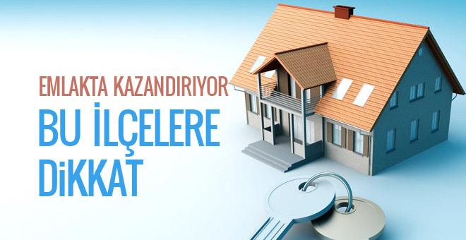 İstanbul'da bu ilçelerde evi olanlar kazanıyor!