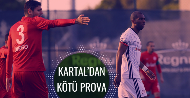 Beşiktaş Antalyaspor'a boyun eğdi