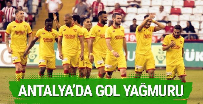 Göztepe Antalyaspor maçı sonucu ve özeti