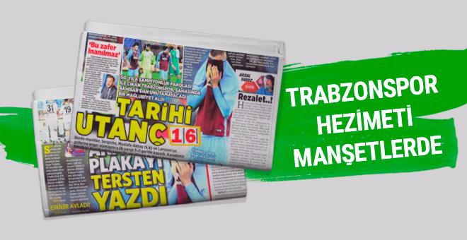 Günün spor gazete manşetleri! 16 Ekim 2017