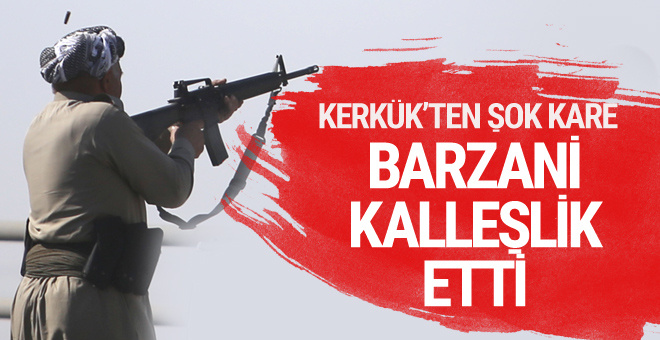 Barzani en büyük kalleşliği yaptı! Hummerdaki PKK'lılara bakın