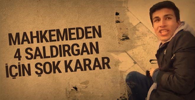 Galatasaray taraftarına saldıran 4 kişi için olay karar