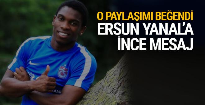 Castillo'dan Ersun Yanal'a ince mesaj