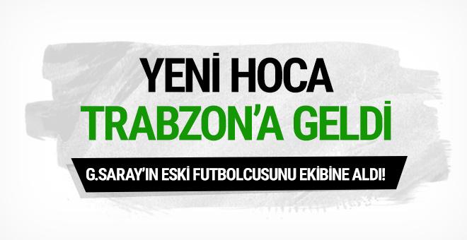 Rıza Çalımbay Trabzon'a geldi! Servet Çetin sürprizi...