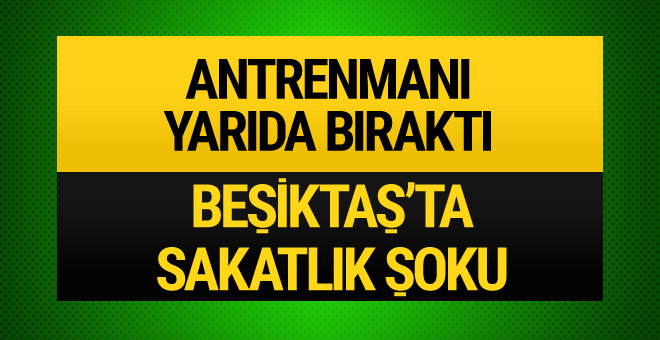 Beşiktaş'ta Medel şoku!