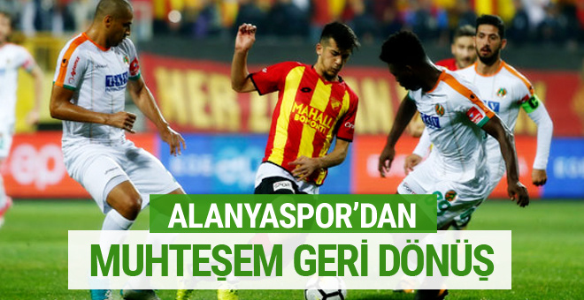 Göztepe - Alanyaspor maçı sonucu ve özeti