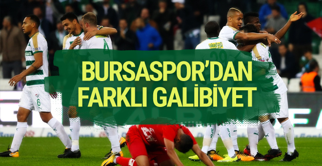 Bursaspor Antalyaspor maçı golleri ve özeti