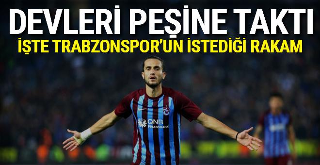 Trabzonspor'a transferde piyango vurdu