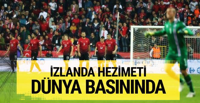 Türkiye İzlanda maçı dünya basınında