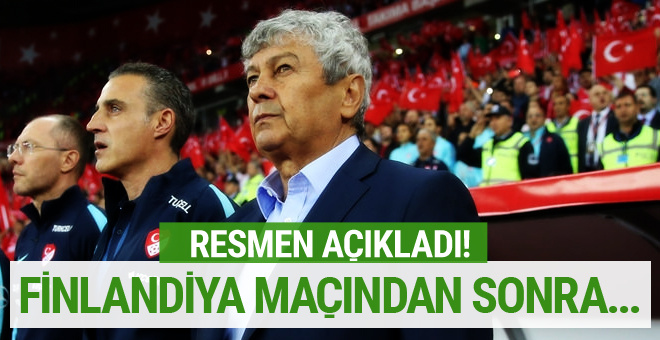 Lucescu istifa söylentilerine son noktayı koydu