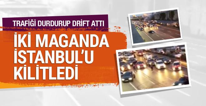 Şehir magandaları İstanbul'u kilitledi