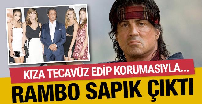 Rambo şoku! Sylvester Stallone tecavüzcü çıktı eşi ve...