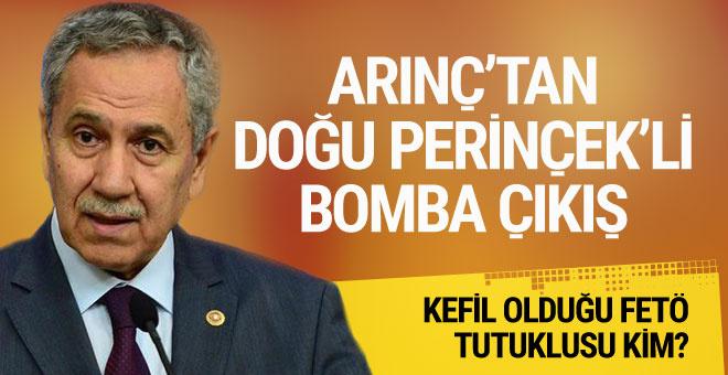 Bülent Arınç'tan Doğu Perinçek'li bomba açıklama!