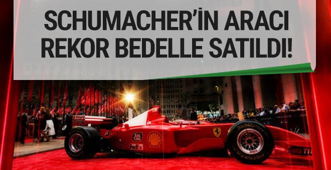 Schumacher'in aracına 7.5 milyon dolar