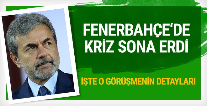 Fenerbahçe'de Mehmet Topal krizi sona erdi!