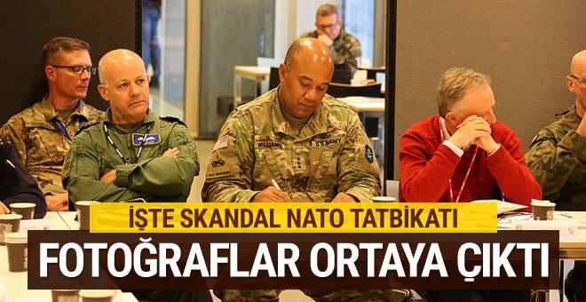 Skandal NATO tatbikatının fotoğrafları ortaya çıktı